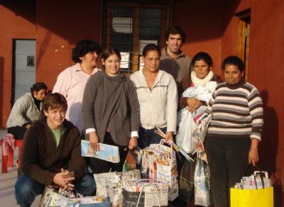 Espacio Social Eco bolsas